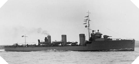 Image : HMS Scourge