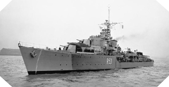 Image : HMS Undaunted