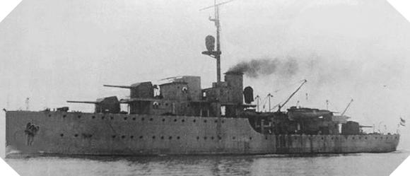 Image : canonnière HNLMS Flores