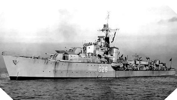 Image : destroyer HNoMS Stord