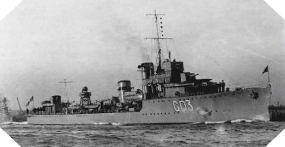 Image : destroyer HNoMS Svenner