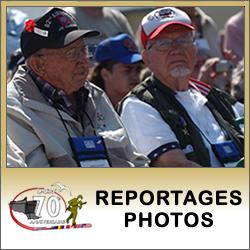 Lien : Photos des cérémonies du 70ème anniversaire du Jour-J