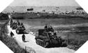 Image : Renforts Canadiens faisant route vers l'intérieur des terres