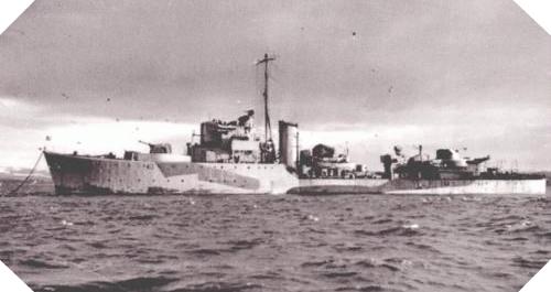 Image : contre-torpilleur La Combattante