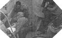 Image : Le 6 juin 1944, des blessés Américains sont transportés à bord du L.S.T. 281