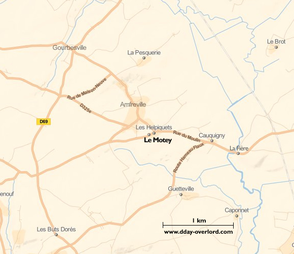 Image : carte de Le Motey