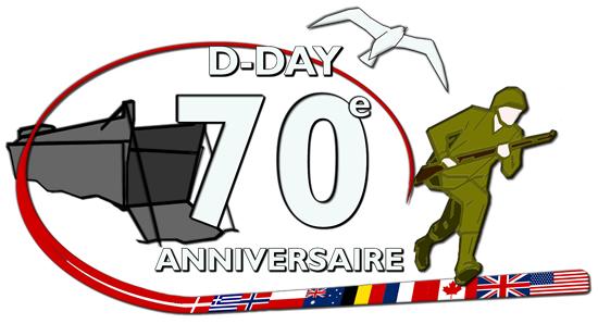 Image : image officielle D-Day Overlord du 70ème anniversaire du débarquement de Normandie