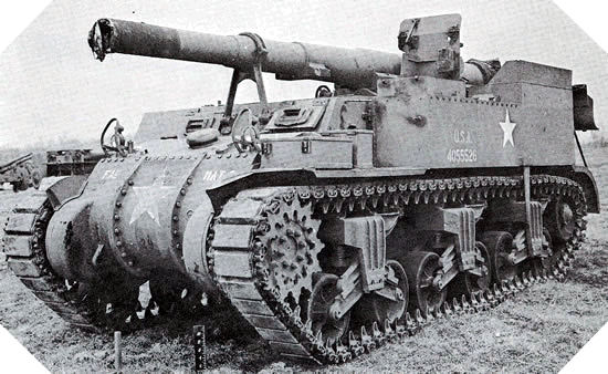 Image : M12 Gun Motor Carriage