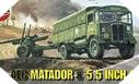 Image : AEC Matador et canon de 5.5 - Airfix