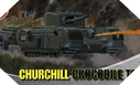 Image : Churchill Crocodile - Airfix