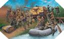 Image : Jagdpanther et détachement du génie