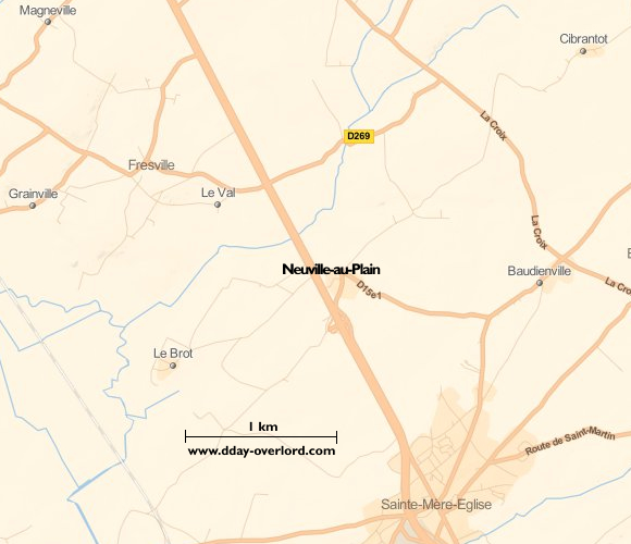 Image : carte de Neuville-au-Plain