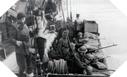 Image : Récupération et évacuation des commandos anglais par les embarcations