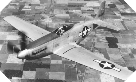 Image : North American P-51 D Mustang
