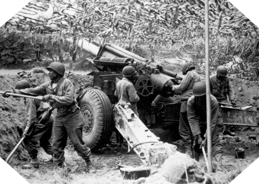 Image : Obusier de 105 mm M2A1