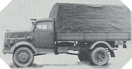 Image : Opel-Blitz 36-6700A