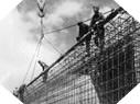 Image : Construction d'une fortification du Mur de l'Atlantique par l'organisation Todt