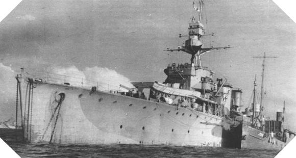 Image : croiseur ORP Dragon
