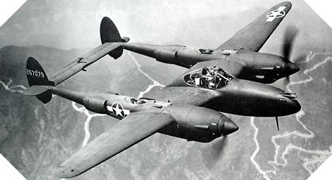 Image : Lockheed P-38 Lightning