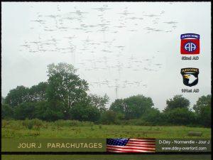 Parachutage en Normandie