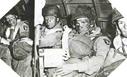 Image : Parachutistes Américains appartenant à la 101ème Airborne à bord d'un Douglas C-47