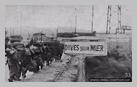 Image : Août 1944 : des soldats belges de la brigade Piron entrent dans Dives-sur-Mer