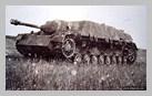 Image : Un chasseur de char Jagdpanzer IV armé d'un canon de 7,5 cm PaK 39 L-48 détruit dans le secteur de Saint-Agnan-de-Cramesnil.