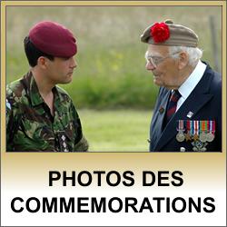 Photos des commémorations