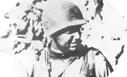 Image : Le Colonel Rudder, commandant l'attaque par les Rangers de la Pointe du Hoc