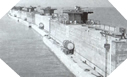 Image : Photos du port artificiel d'Arromanches - Mulberry B