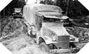 Image : La pluie et la boue sont les ennemis les plus fréquents de la Red Ball Express en Normandie