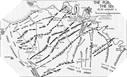 Image : Carte de la progression vers la Seine avec l'opération Paddle