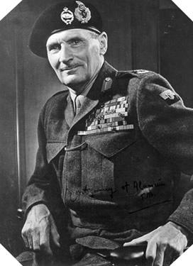 Image : Sir Bernard Shaw Montgomery