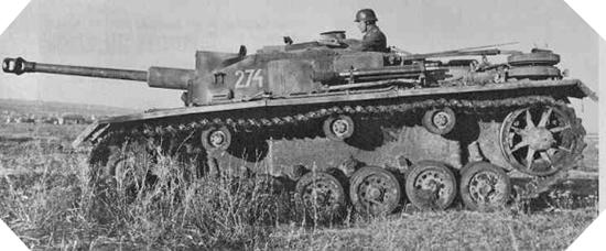 Image : Char Sturmgeschütz III Ausf. G