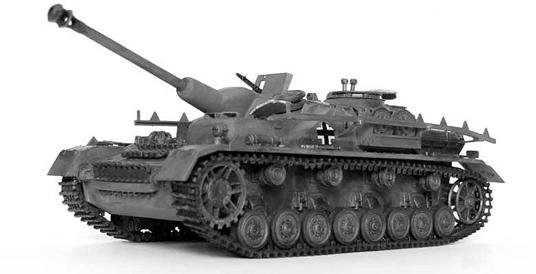 Image : Char Sturmgeschütz IV