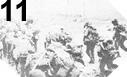 Image : Les forces Anglaises et Françaises foncent à l'intérieur des terres