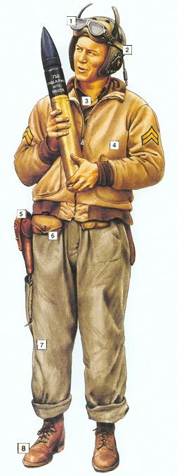 Image : Tenue de tankiste américain