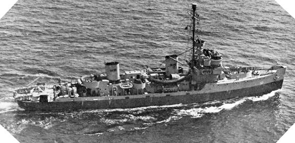 Image : USS Auk