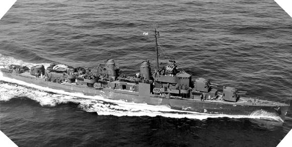 Image : USS barton