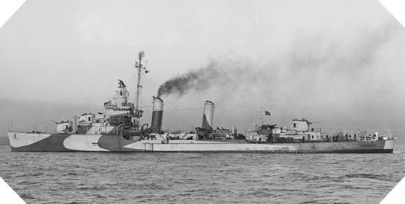 Image : L'USS Ellyson