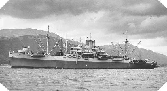Image : cargo U.S.S. Samuel Chase