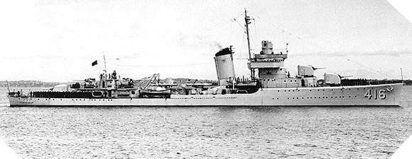 Image : USS Walker