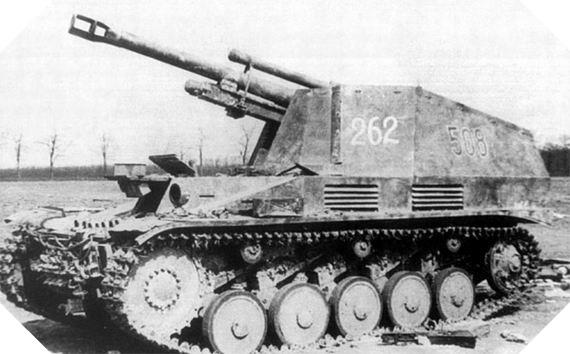 Image : SdKfz 124 Wespe