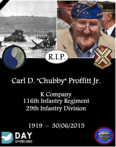 Carl D. Chubby Proffitt Jr.