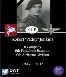 Robert Paddy Jenkins