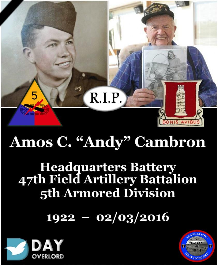 Amos C. Cambron