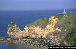 La Pointe du Hoc vue des falaises ouest