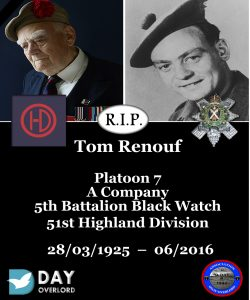 Tom Renouf - 51st Highland Division