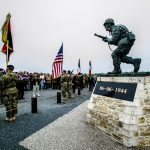 Cérémonie Leadership Monument - 2016 - Utah Beach
