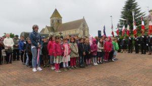 Inauguration plaque commémorative à Cheux